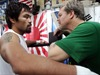 Manny Pacquiao prometió noquear a Mayweather