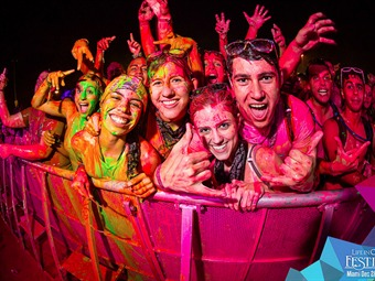 ¡Conoce el Life in Color: World's Largest Paint Party!